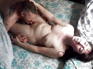 Husband licking the pussy of his wife