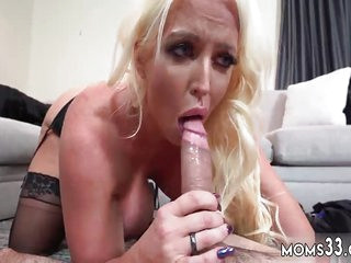 Mature milf and in bedroom Step Mom's New Fuck Toy