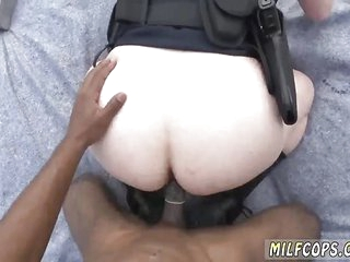 Mature police and vintage interracial creampie Peeping Tom
