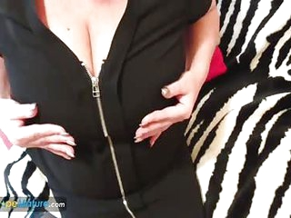 EuropeMaturE Busty Alisha Solo Fun