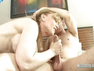 John Finally Fucks His Auntie In Some Taboo Mature Fucking Getting His ROcks Off And Cumming