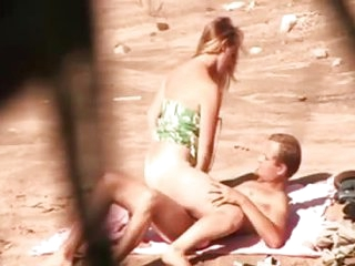 beach spy video my mother in law with BF
