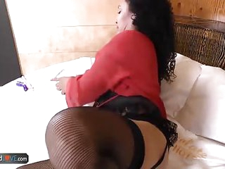 AgedLovE Latina Sharon Loves Hard Dicks