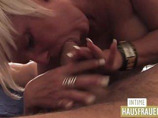 Blond Milf with Big Boobs