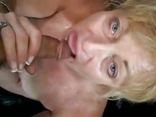 old lady riding black - Watch Part2 on cougarmilfcam.com