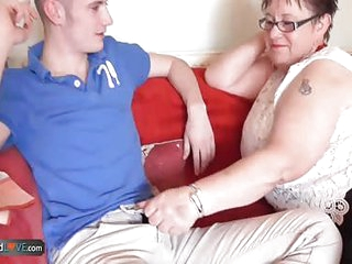 AgedLove BBW mature Honey hardcore with Sam Bourne