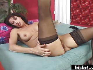 Mature hairy pussy gets drilled properly