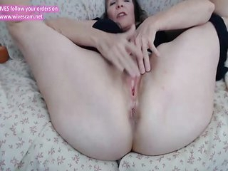 Amazing filthy MATURE WEBCAM 75