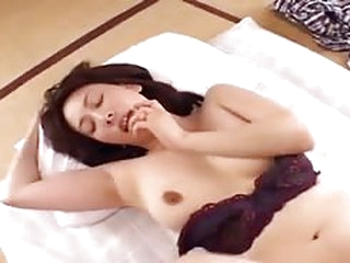 Sexy Asian mature having the time of her life by a total stranger