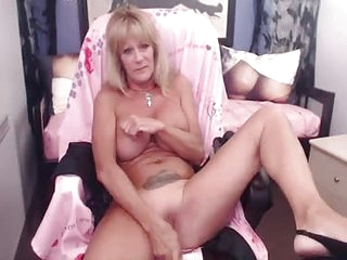 Mature can never have enough toys to fill her holes