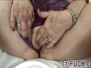 Fat bbw blonde granny fucking big dong sideways